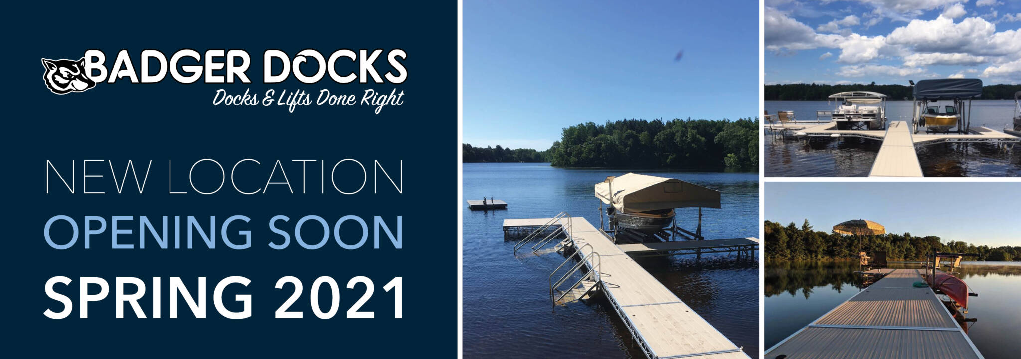 New Badger Dock location opening soon in Spring 2021